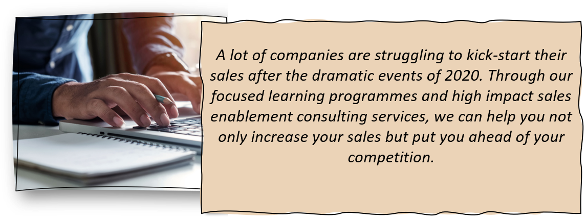 Sales change